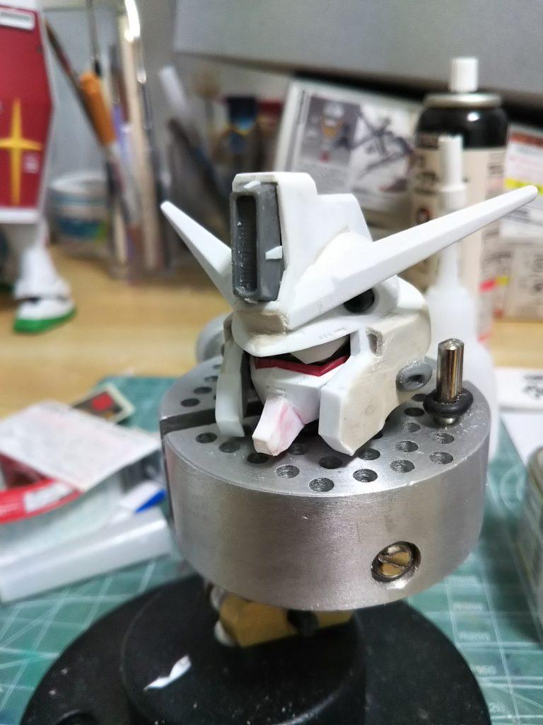 SD クラスターガンダム 制作工程2