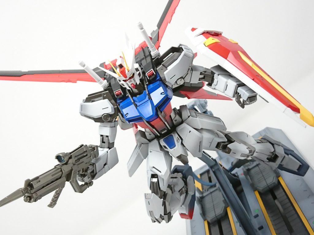 MG GAT-X105 エールストライク Ver.RM 『STRIKE出撃』