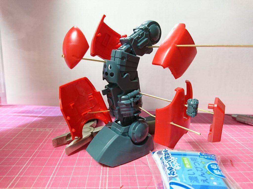 MG ガンキャノン 分解モデル 制作工程3