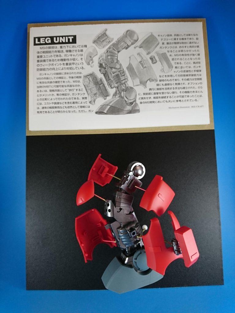MG ガンキャノン 分解モデル アピールショット1