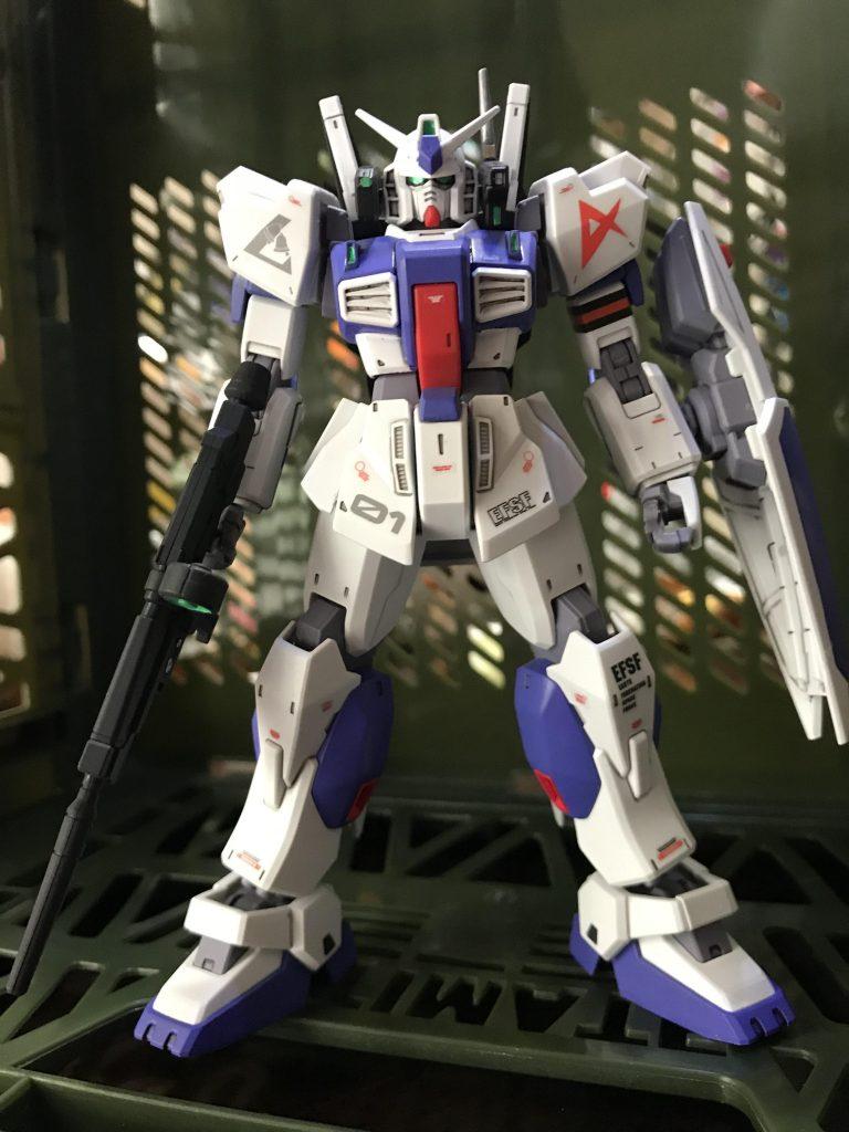ガンダムMk-Ⅱ アムロ仕様 ロンドベル版 アピールショット4