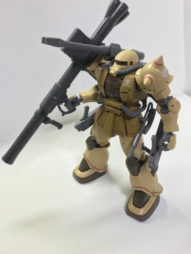 ザクハーフキャノン バズーカ装備型 アピールショット3
