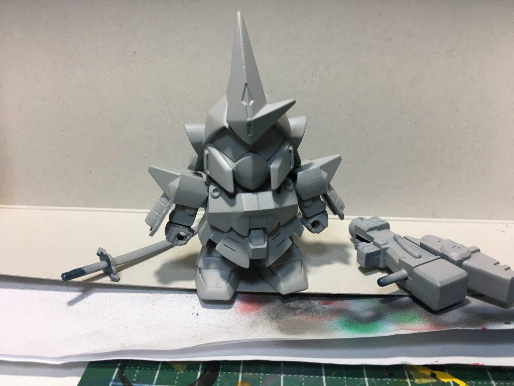 BB戦士 武者百士貴 制作工程3