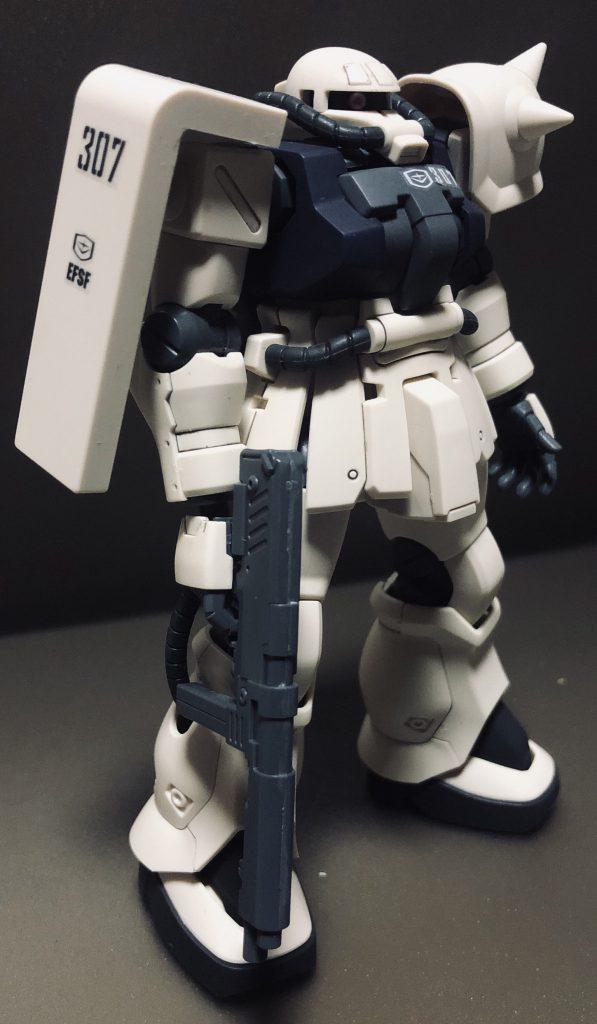 HGUC ザクⅡF2 連邦軍カラー アピールショット1