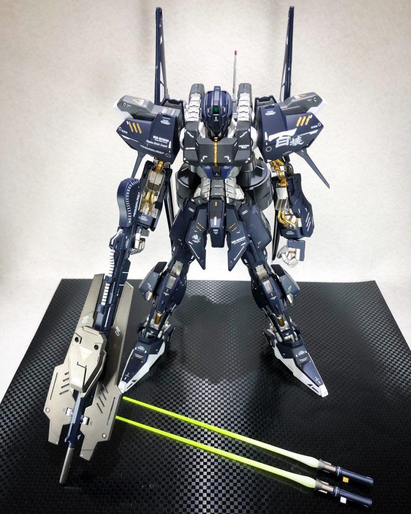 MG 1/100 百式壊 アピールショット4