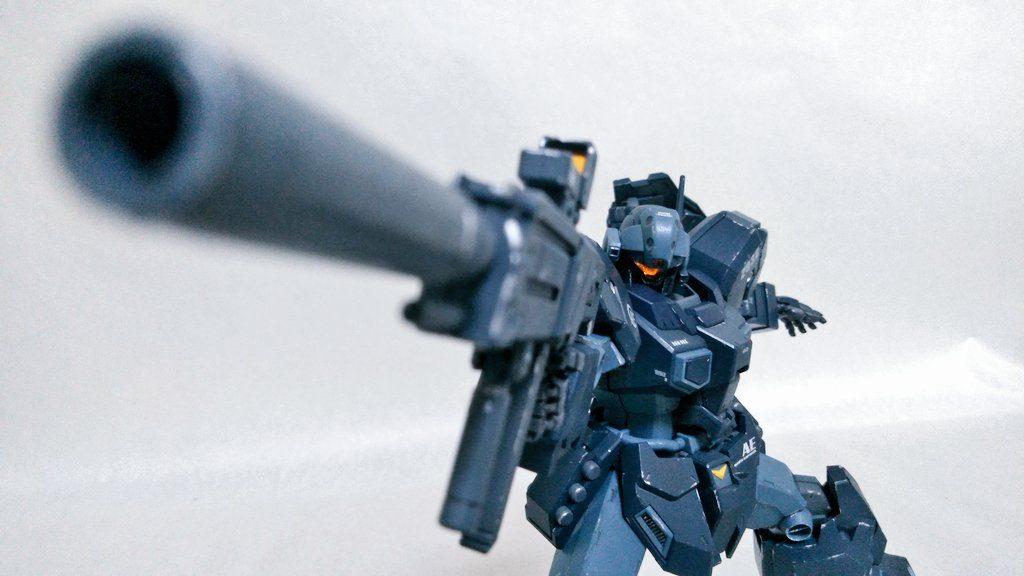 [LED改造(?)] RGM-96X ジェスタ アピールショット1