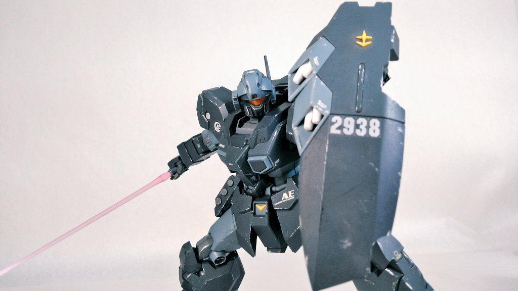 [LED改造(?)] RGM-96X ジェスタ アピールショット2