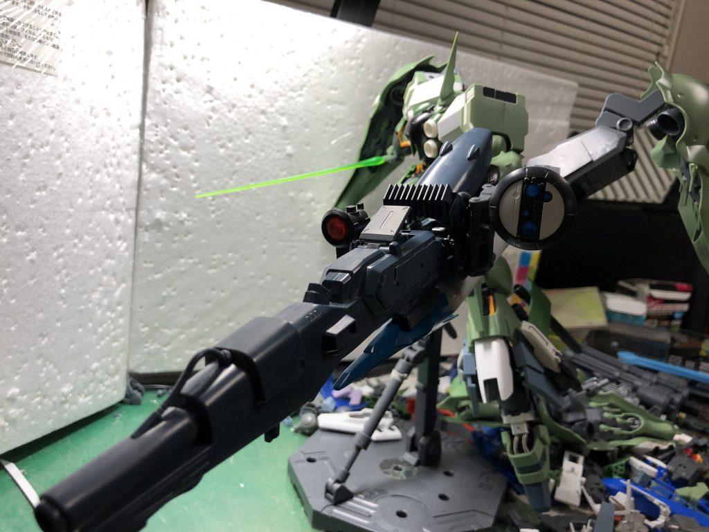クシャトリヤ対NT-D近接装備グリズリ・アーマーVN 制作工程2