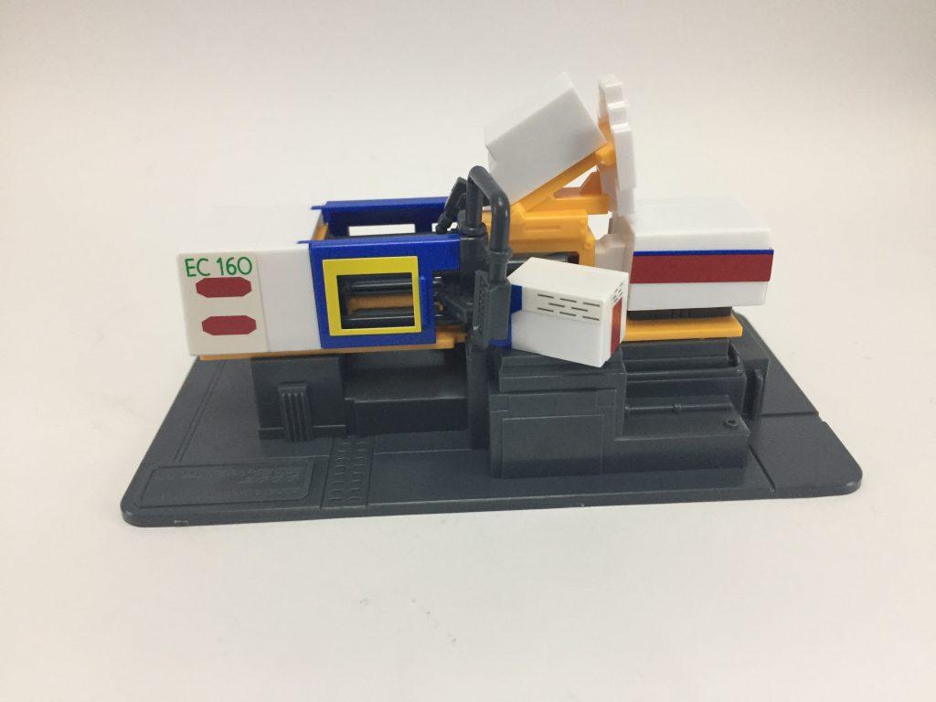 電動式4色射出成形機 アピールショット1