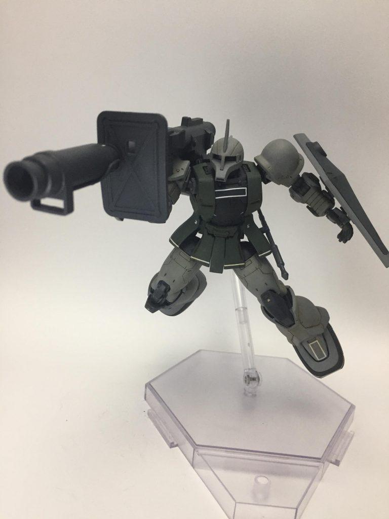 MS-05S ザクⅠ ゲラート・シュマイザー専用機 ver.THE ORIGIN アピールショット3