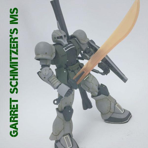 MS-05S ザクⅠ ゲラート・シュマイザー専用機 ver.THE ORIGIN