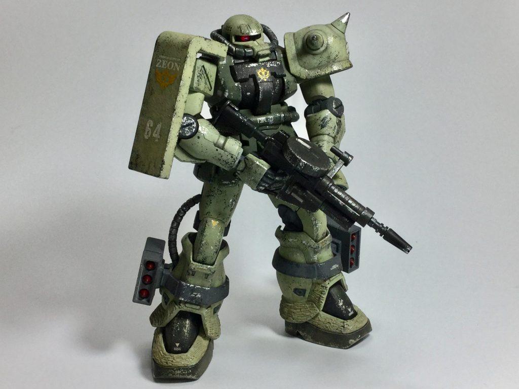 ザクII F2型(重力戦線仕様) アピールショット2