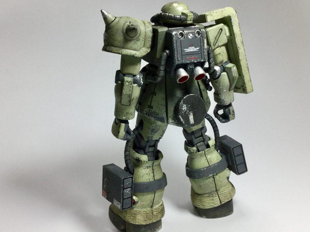 ザクII F2型(重力戦線仕様) アピールショット1