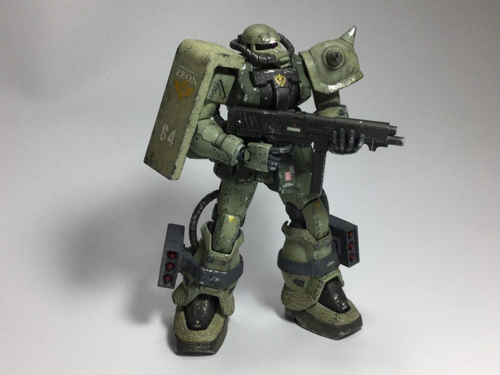 ザクII F2型(重力戦線仕様) アピールショット3