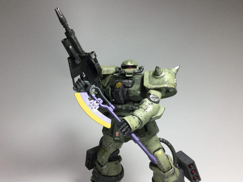 ザクII F2型(重力戦線仕様) アピールショット4