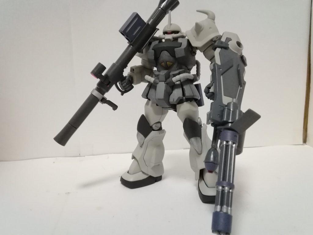 グフカスタム 射撃支援装備 アピールショット1
