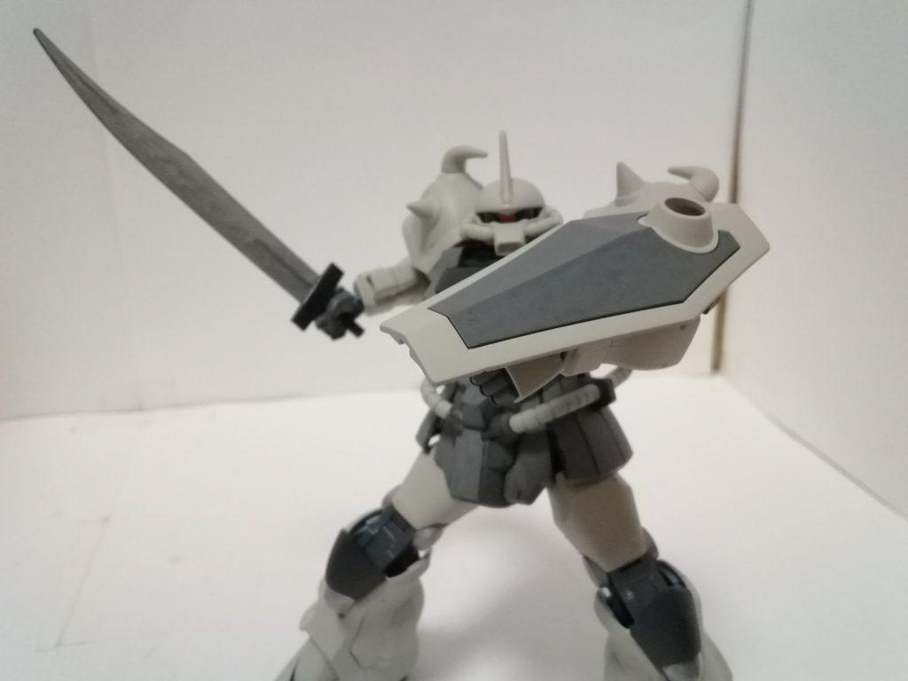 グフカスタム 射撃支援装備 アピールショット4