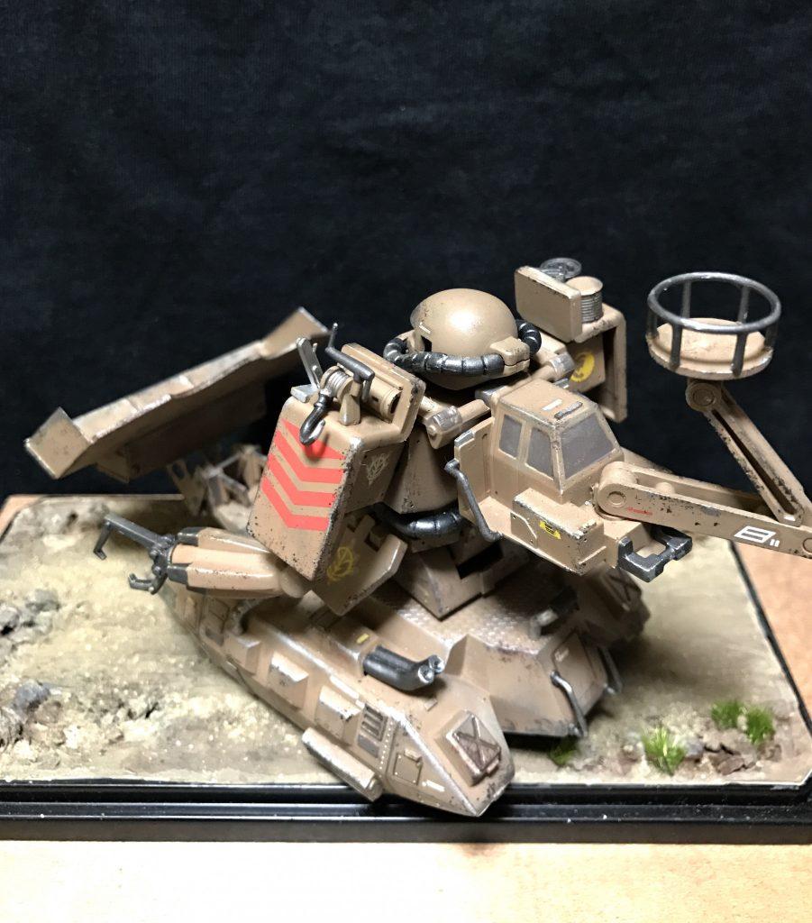 MS-06V ZAKU TANK アピールショット2