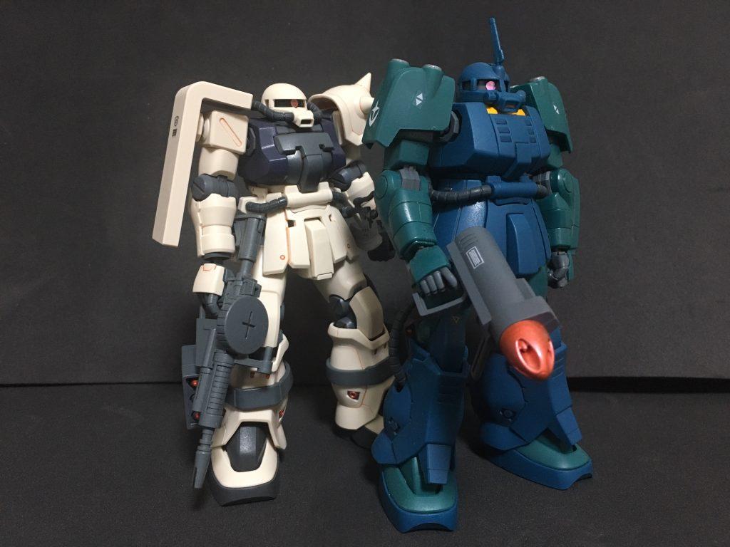 ザクマリナー&ザクII F2型