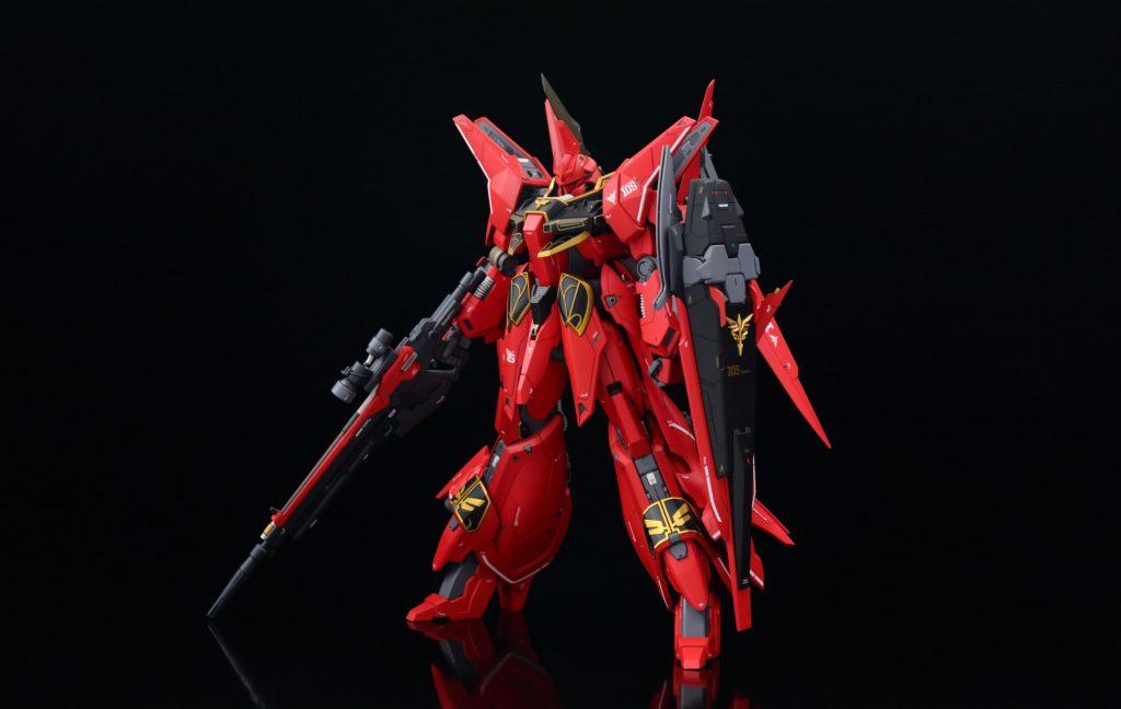 RE/100 フル・フロンタル専用リバウ アピールショット1