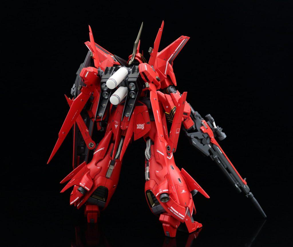 RE/100 フル・フロンタル専用リバウ アピールショット2