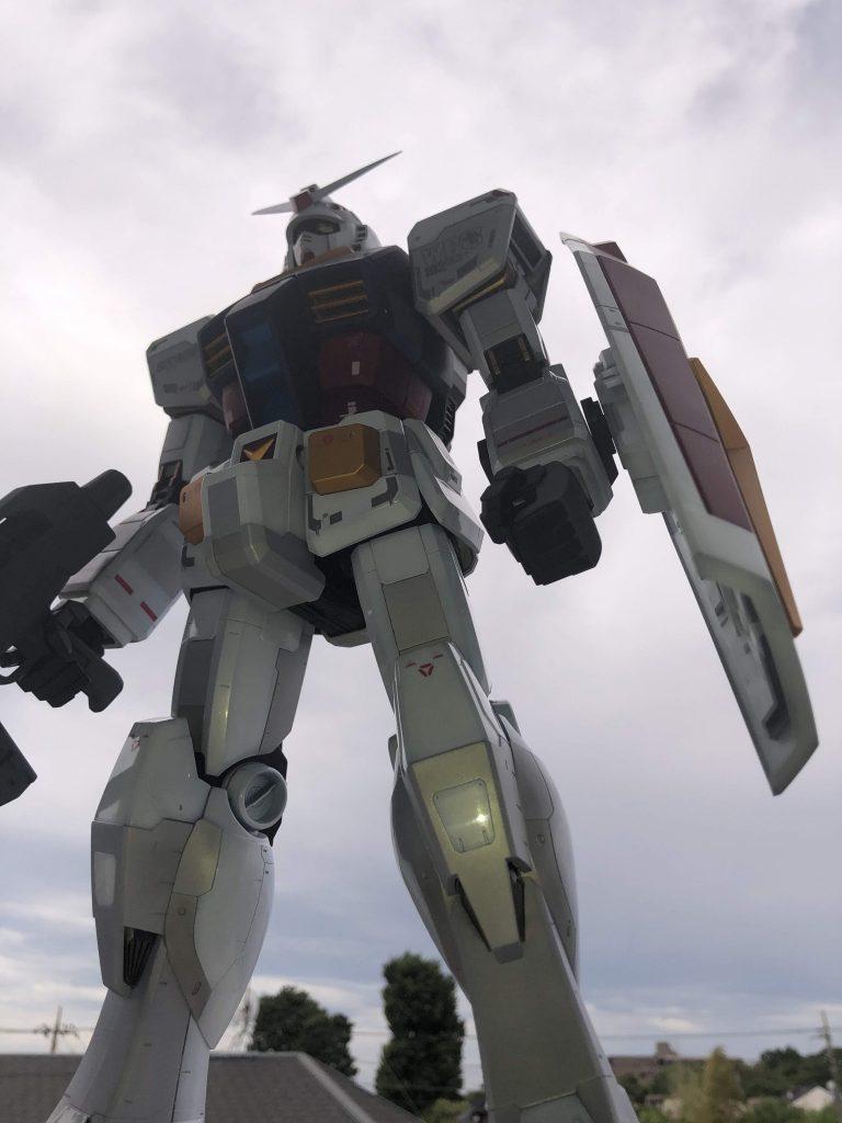 1/48 メガサイズモデル RX-78-2 ガンダム アピールショット4