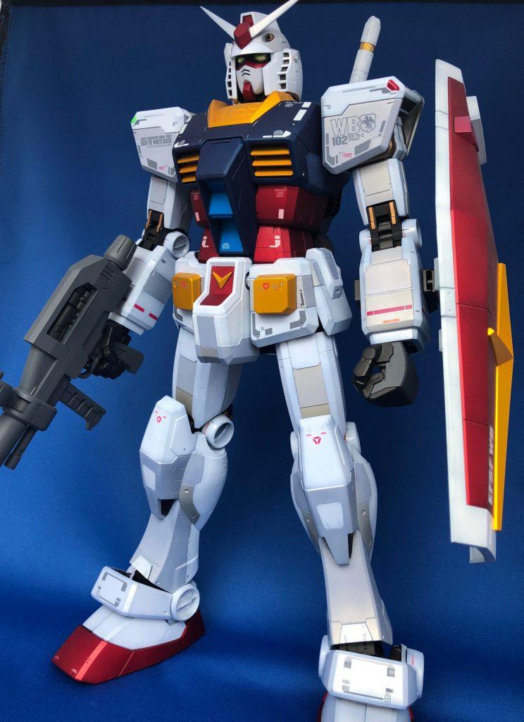 1/48 メガサイズモデル RX-78-2 ガンダム アピールショット1