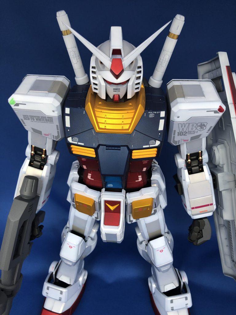 1/48 メガサイズモデル RX-78-2 ガンダム アピールショット3