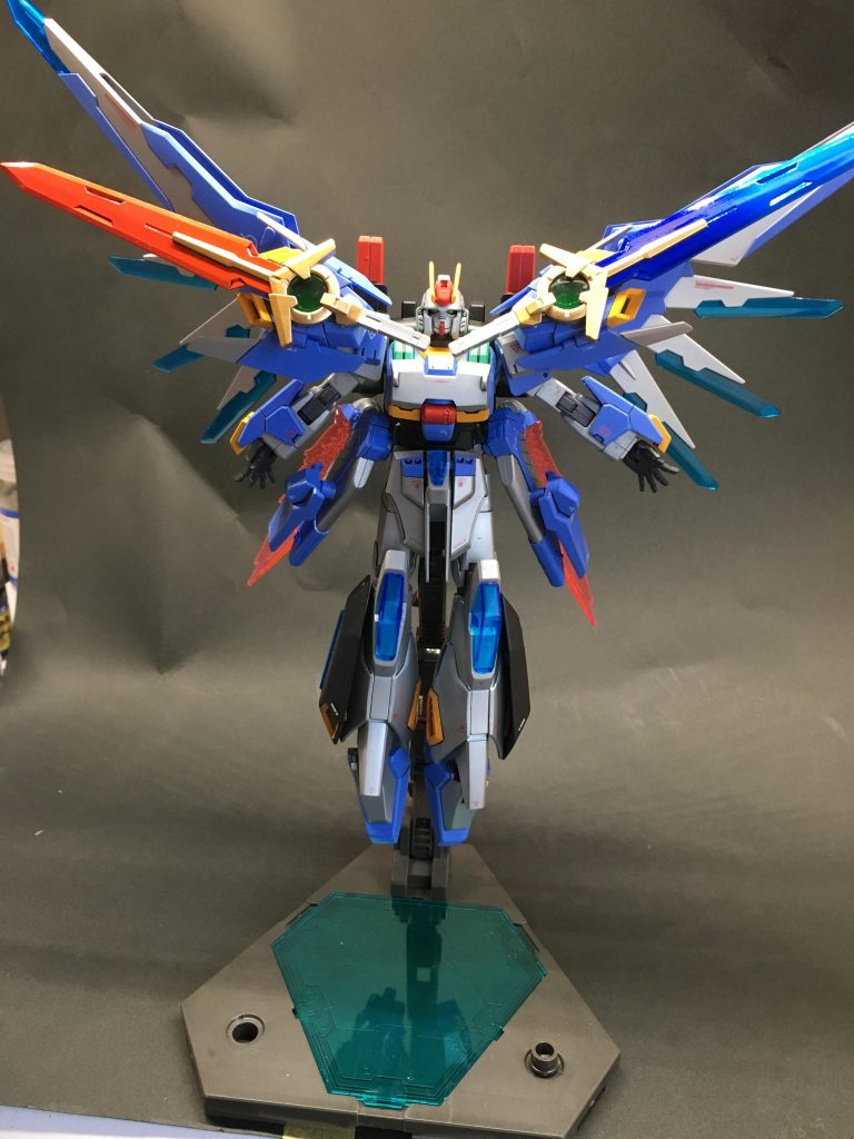 HGBF 1/144 ガンダムEz-SCR【オリジナル】 アピールショット3