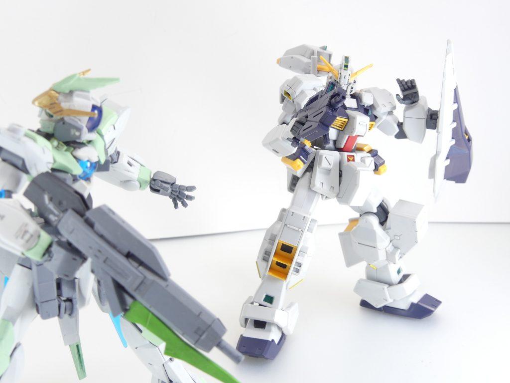 【GBNW】50:HGUC Gパーツ【フルドド】 アピールショット1