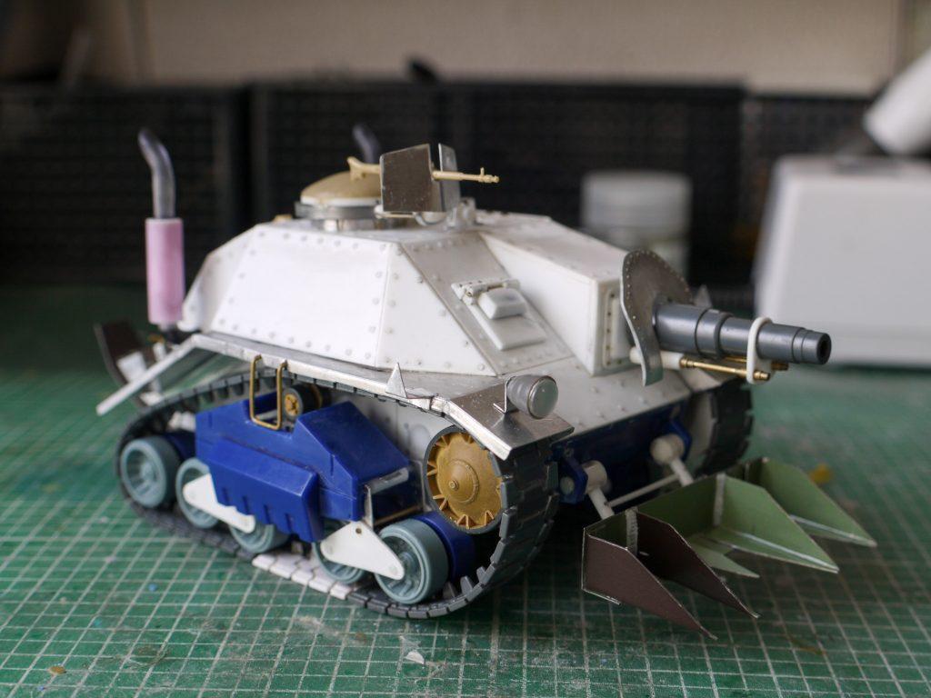 ガン・タンク 制作工程1