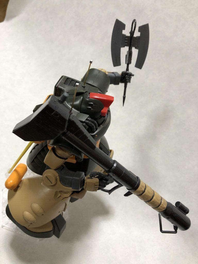 MG 1/100 ドワッジ アピールショット2