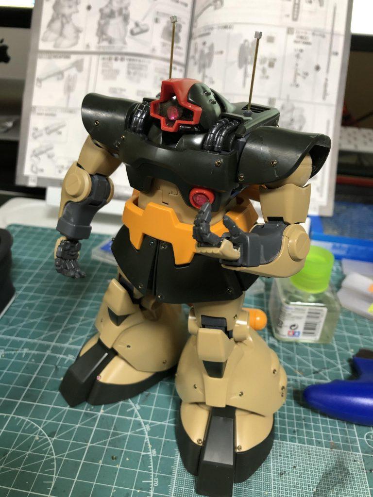 MG 1/100 ドワッジ 制作工程7