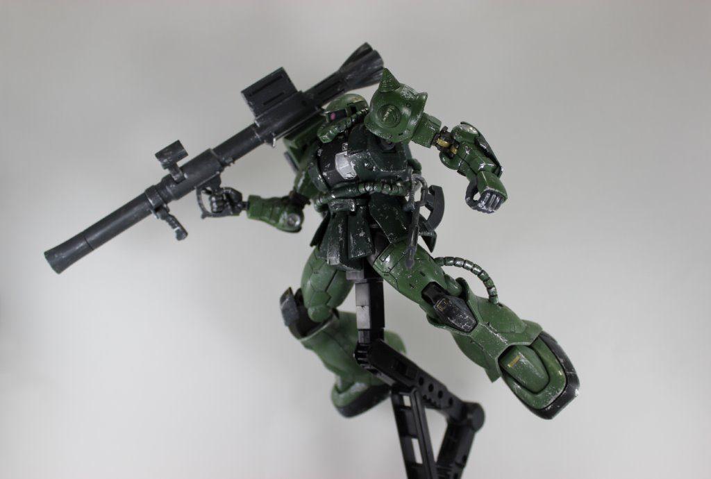ザクⅡTYPEC-6/R6 アピールショット3
