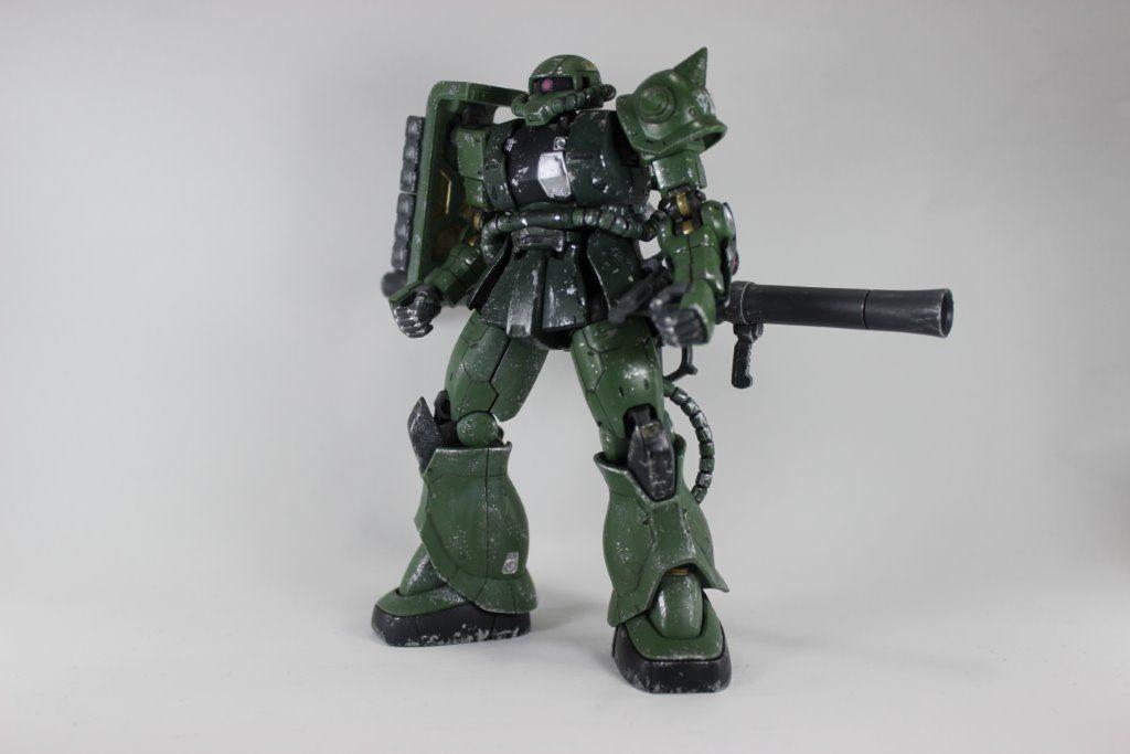 ザクⅡTYPEC-6/R6 アピールショット1