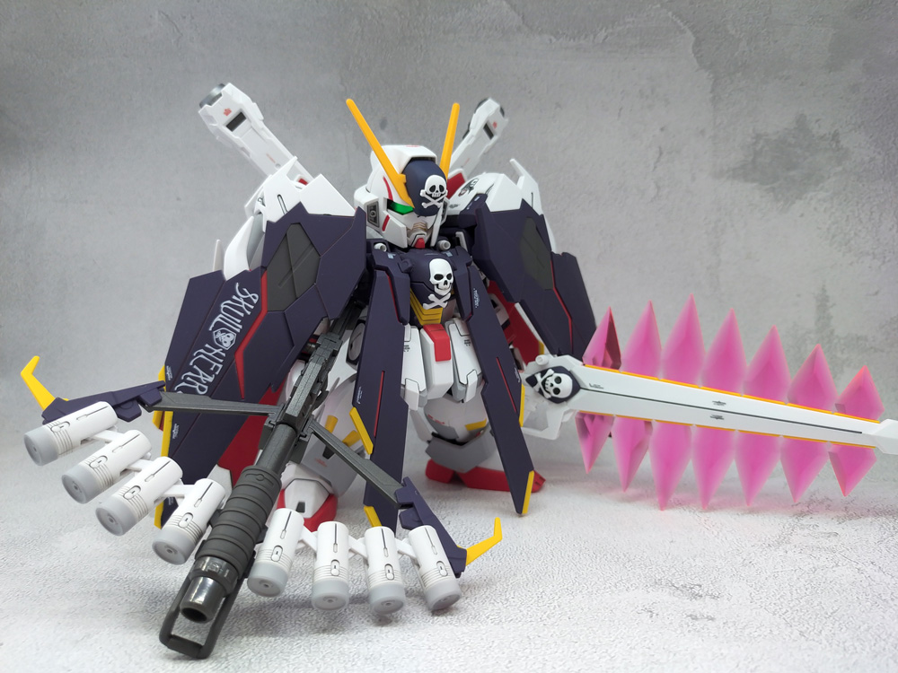 SD Cross Bone Gundam X1 Full Cloth アピールショット1