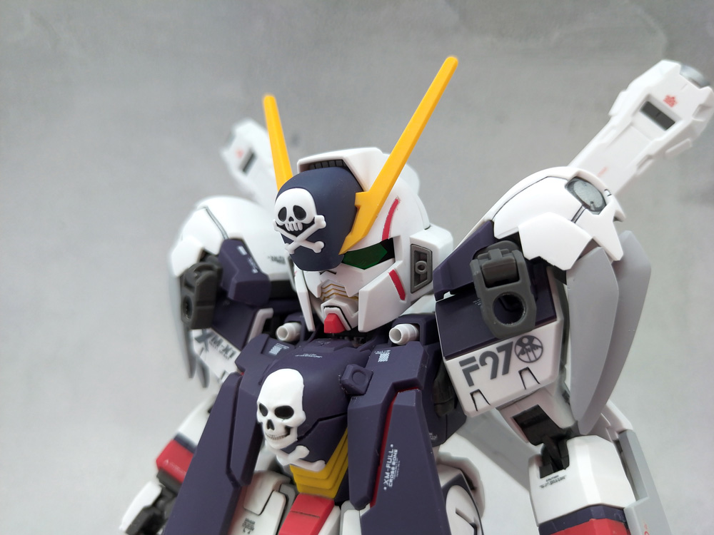 SD Cross Bone Gundam X1 Full Cloth 制作工程1
