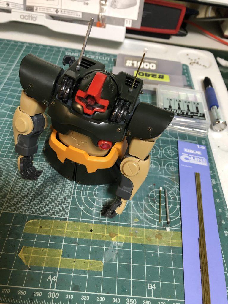 MG 1/100 ドワッジ 制作工程4