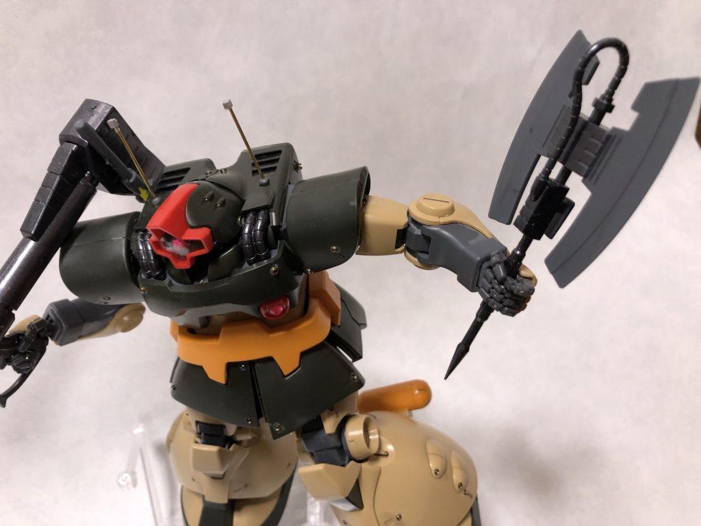 MG 1/100 ドワッジ アピールショット1