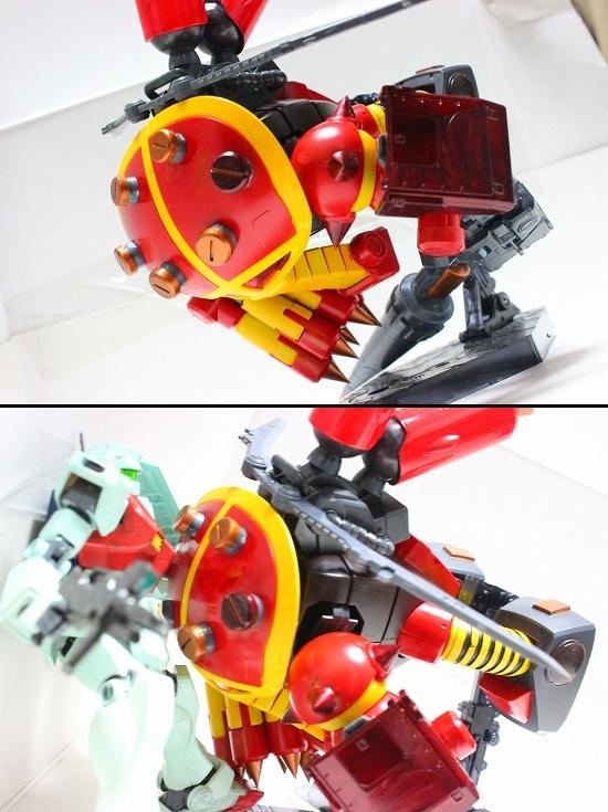 HGUCジュアッグ改造 ジュアッグレイ アピールショット6