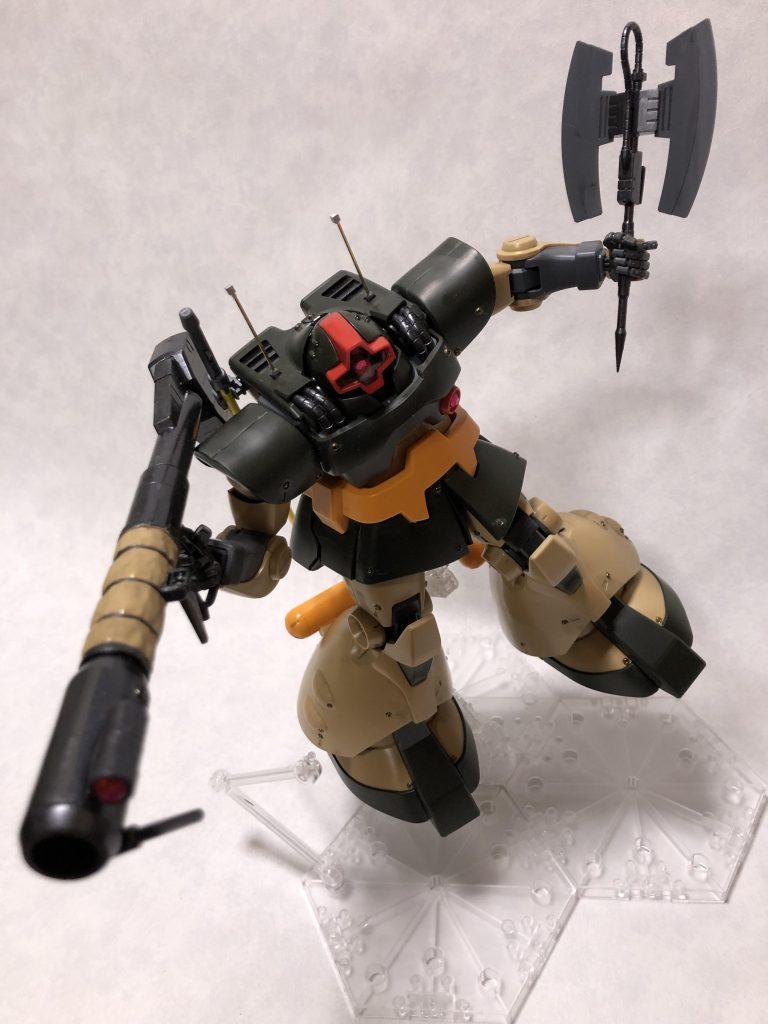 MG 1/100 ドワッジ アピールショット5