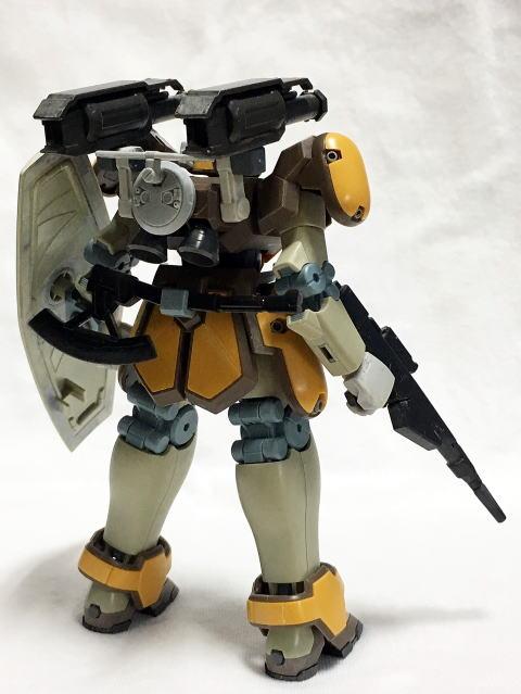マグアナック(砲戦仕様) 制作工程2
