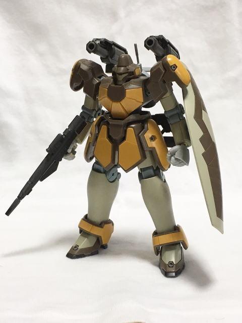 マグアナック(砲戦仕様) 制作工程1