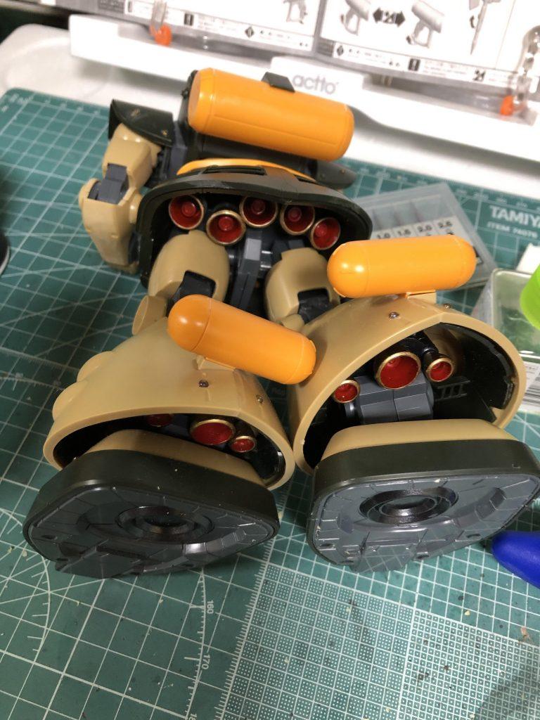 MG 1/100 ドワッジ 制作工程5