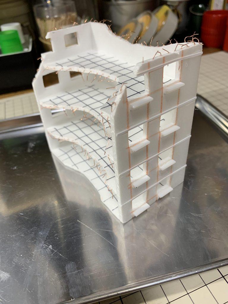 HG シャイニングガンダム+マックスター 制作工程5