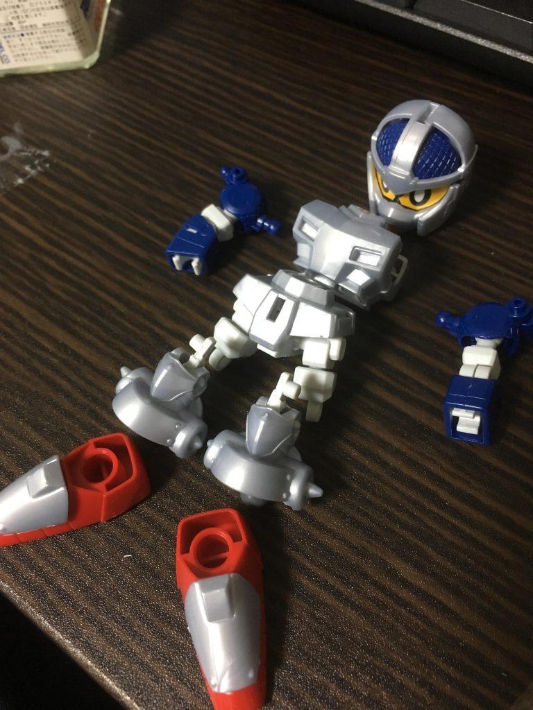 SDCS 騎士ガンダム 制作工程1