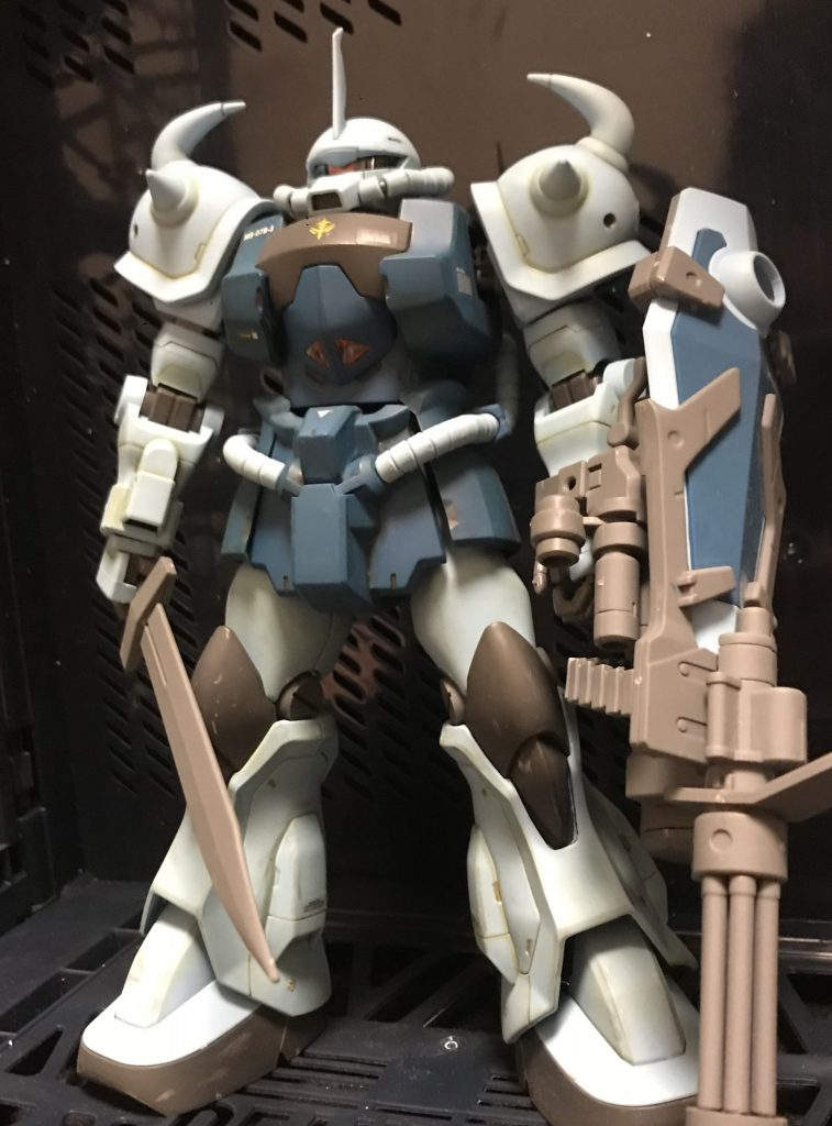 MG グフカスタム アピールショット1