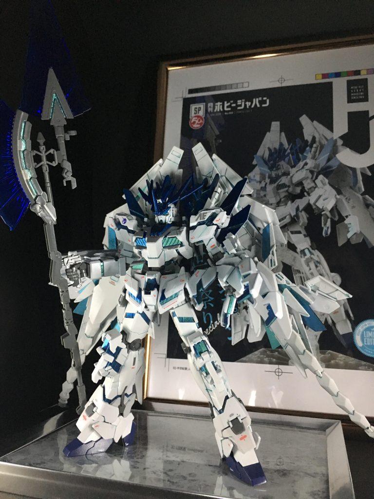白き獅子(フルアーマーユニコーンガンダム2号機バンシィ・ペルフェクティビリティ)