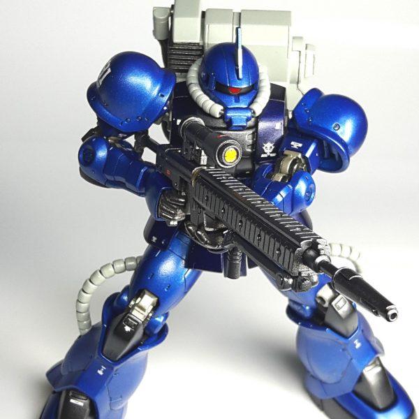 ランバラル隊所属 ザク2 スナイパー装備