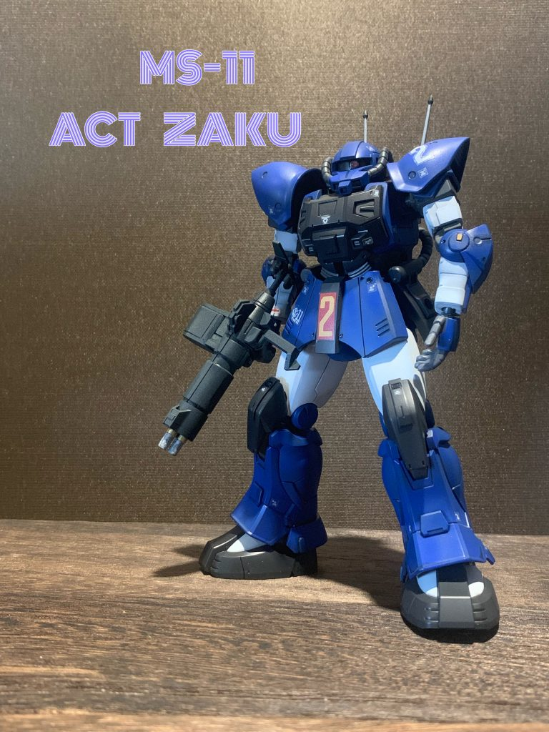 MS-11 ACT ZAKU